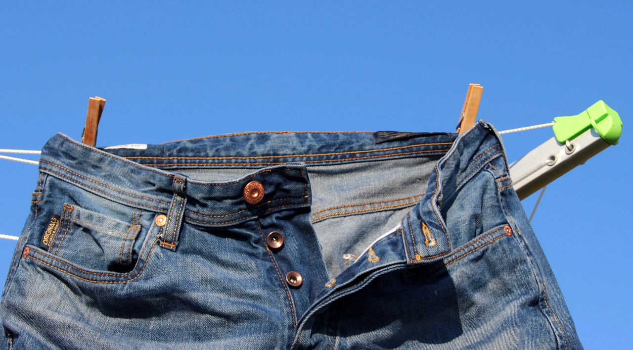 джинсы сушить