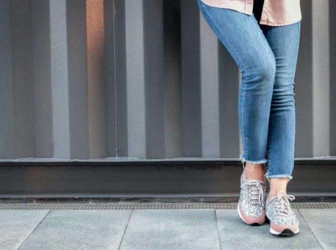 джинсы женские модные