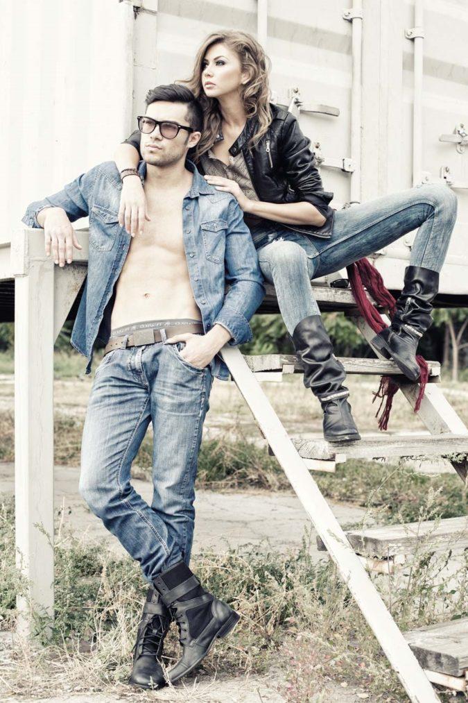 джинсы casual