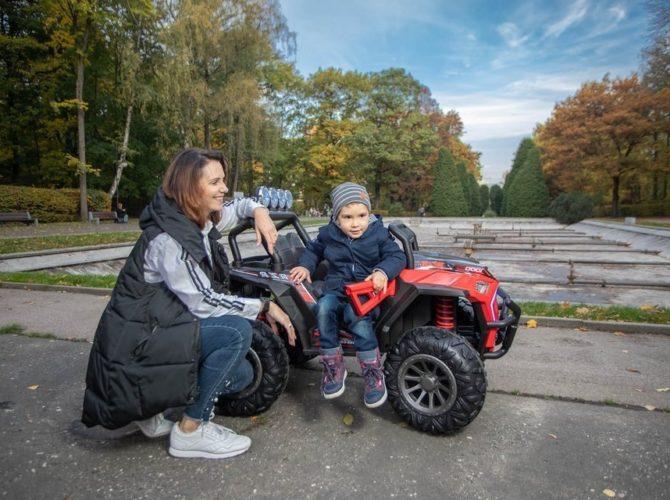 электромобиль детский с пультом купить