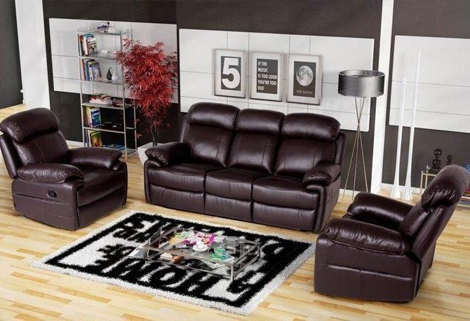 чистка мебели из экокожи