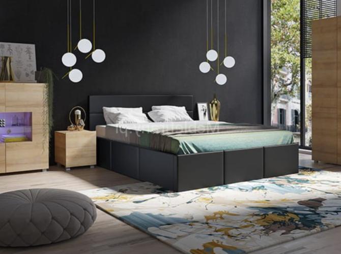 мебель из экокожи в спальню