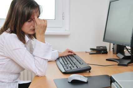 Глаза устают от компьютера
