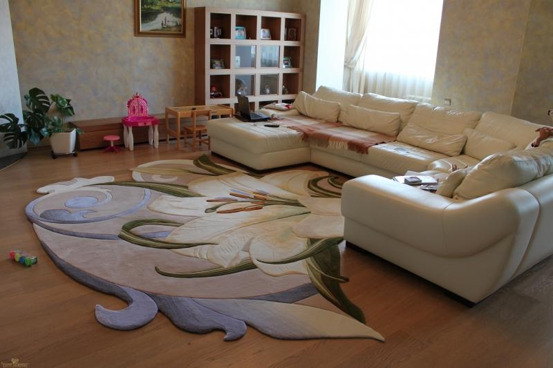 Фигурный ковёр