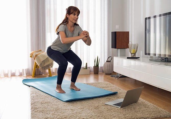 онлайн тренировки йоги