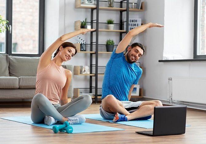 видео тренировки онлайн