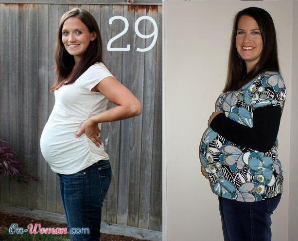 Болит живот на 29 неделе беременности
