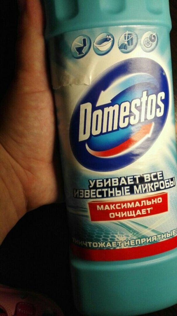 Гель Domestos