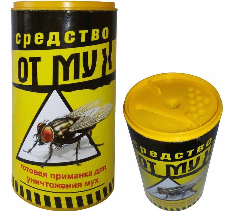 Гранулы от мух