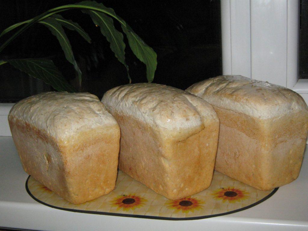 Три буханки хлеба
