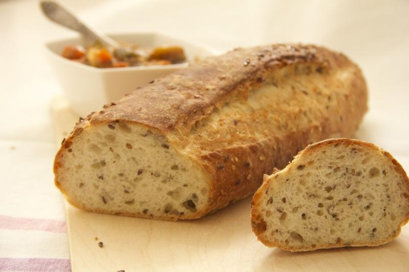 Хлеб с семенами по Дюкану