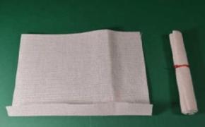 Рулон из ткани