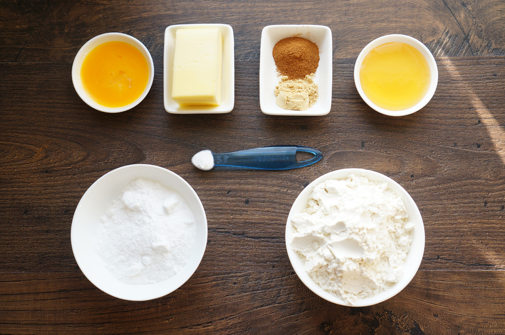 имбирное печенье ингредиенты