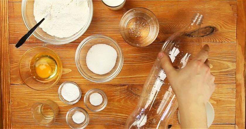 Ингредиенты для блинов из бутылки