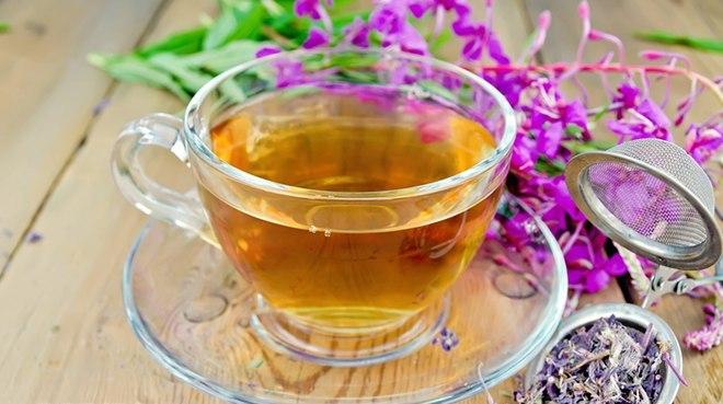 Заваренный иван-чай