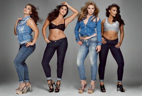 джинсы для женщин с лишним весом