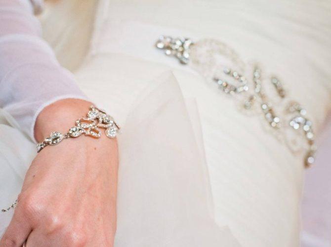 как подобрать украшения к свадебному платью