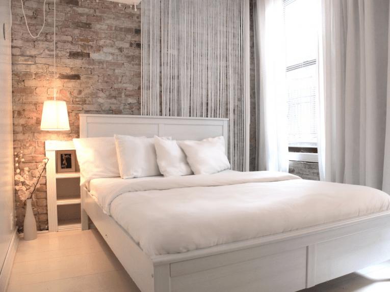 Кисейные занавески для спальни