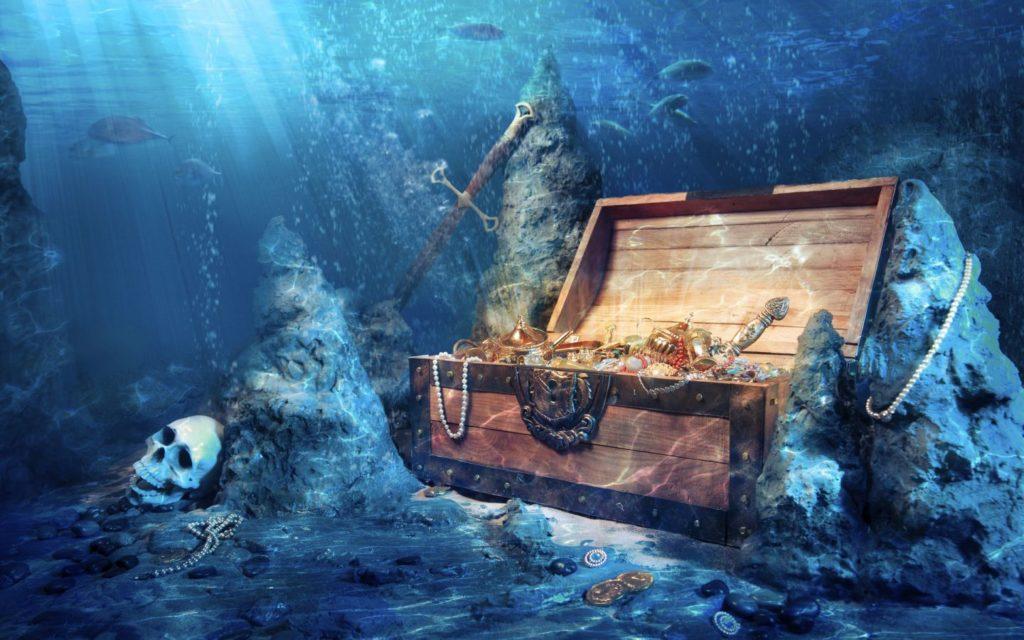 клад в океане