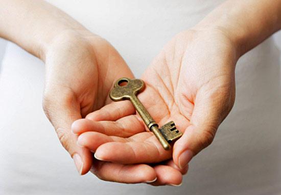 Ключ в ладонях
