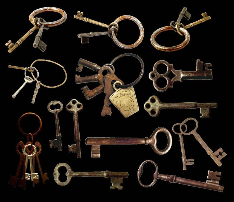 Тест картинка с ключами