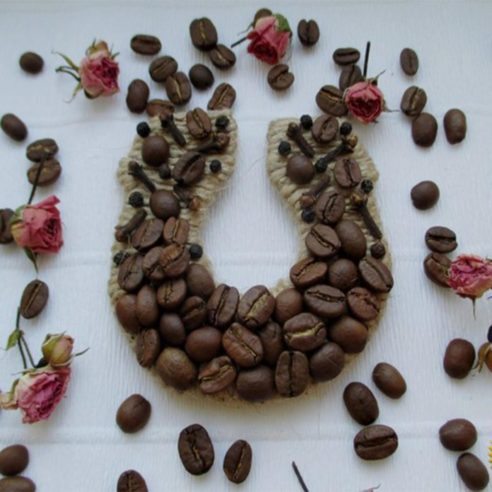 Кофейная подкова