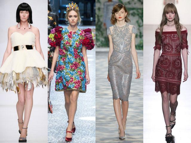 28edd116f34 Модные коктейльные платья 2018 года  женская мода