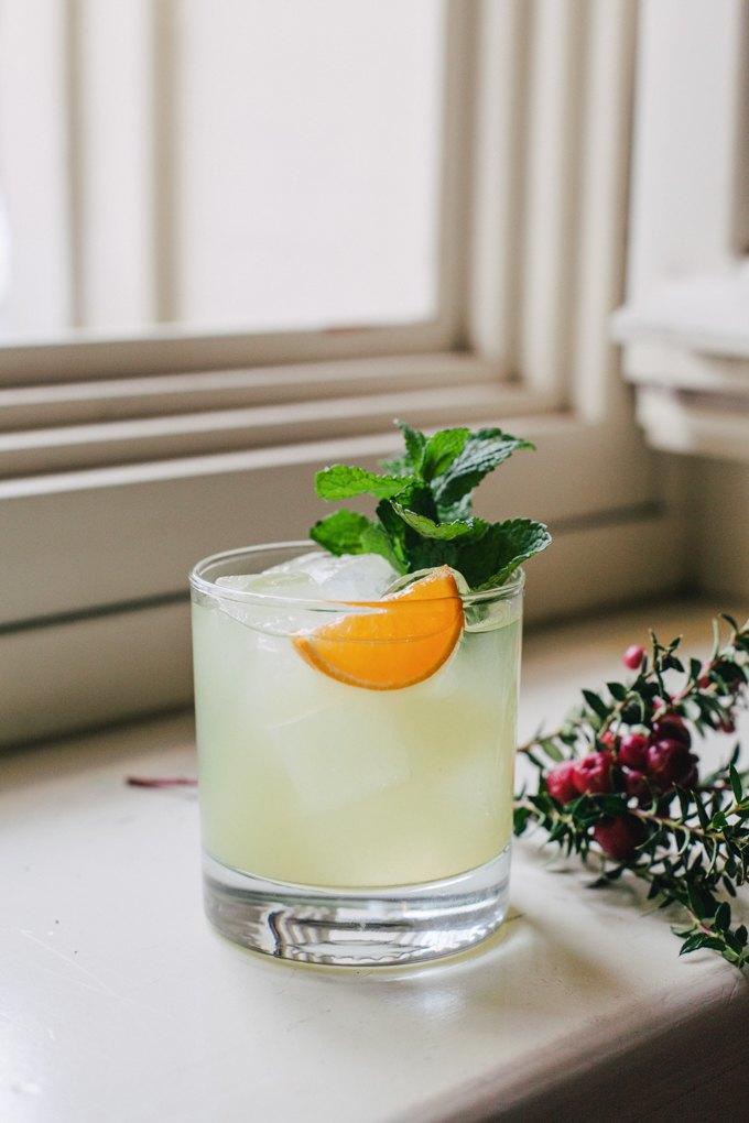 коктейль помело