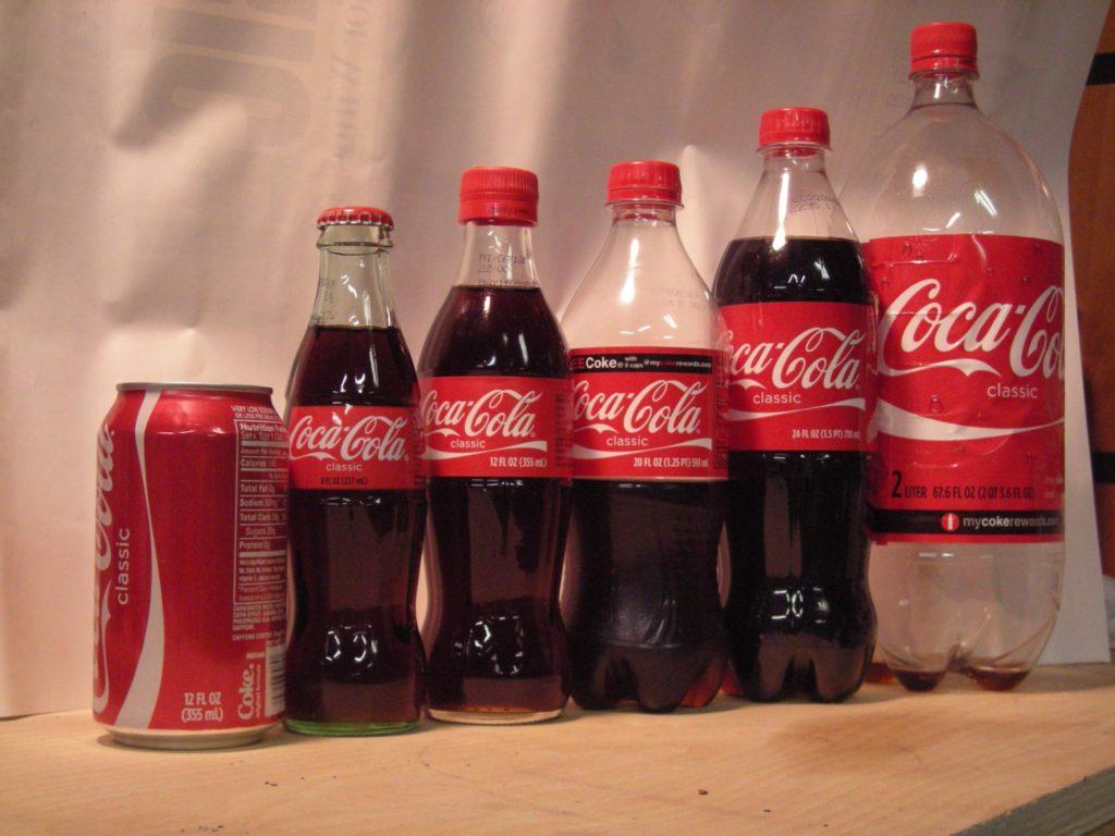 Кока-Кола в упаковке