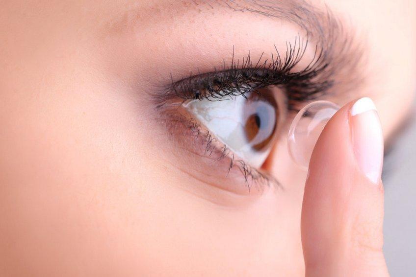 контактные линзы