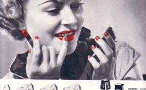 Косметическая реклама 30 гг. XX века