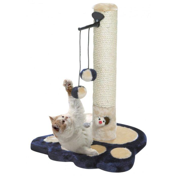 Кот и когтеточка столбиком