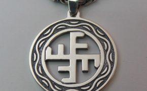 Небесный крест вписанный в круг
