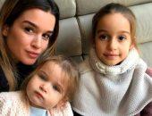 ксения  бородина и ее дочки
