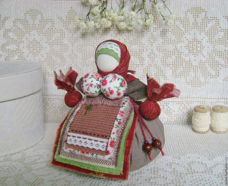 куколка-оберег Кубышка-Травница