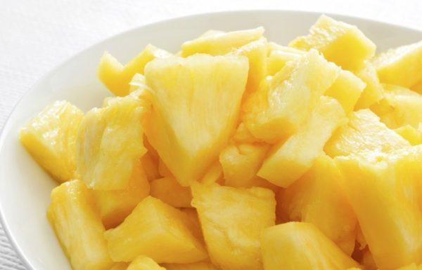 Кусочки ананасов