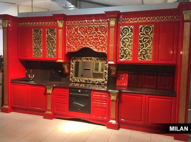 Дизайнеры мебельной фабрики Milan порадовали ценителей модерна новой кухней