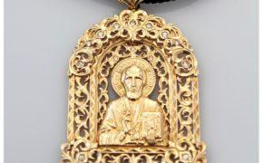 Ладанка с ликом святого Андрея