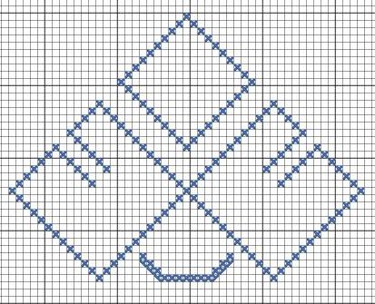 Схема вышивки символа Леля