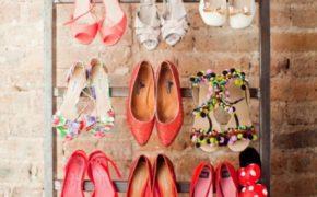 Лестница-обувница