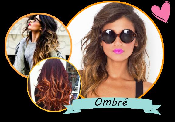 сочетание цвета волос и макияжа на лице