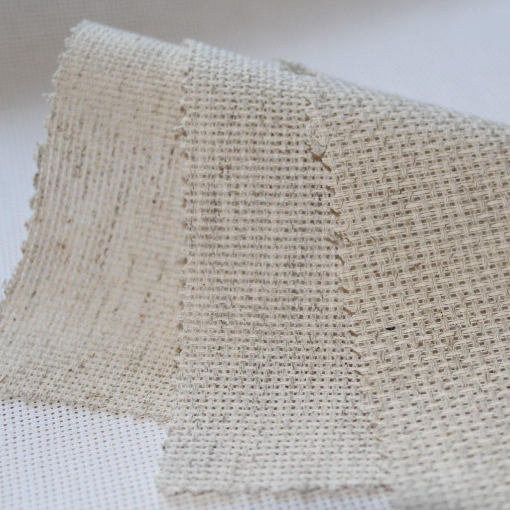 Льняная канва для вышивания