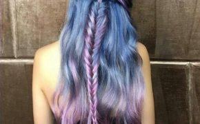 Сочетания синего и фиолетового