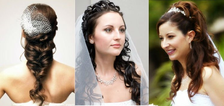 Прически на густой волос свадебные