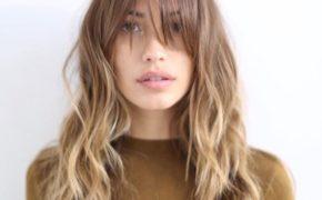 Средние волосы и чёлка