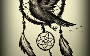 Ловец снов с вороном