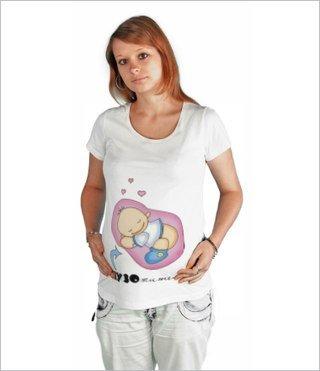 летние майки для беременной