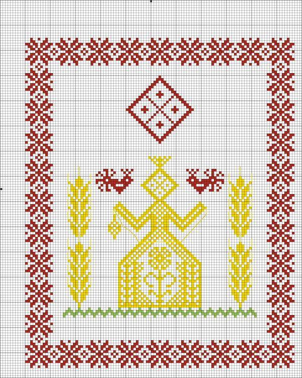 Схемы для вышивки славянских оберегов 34