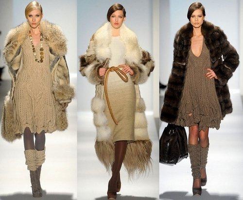 меховая одежда 2013