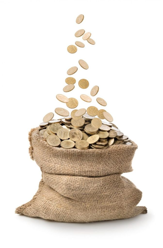 Мешочек с монетками